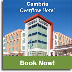reserve your room at the Cambria Hotel