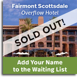 Add your name to the waitlist at the Fairmont Scottsdale Princess